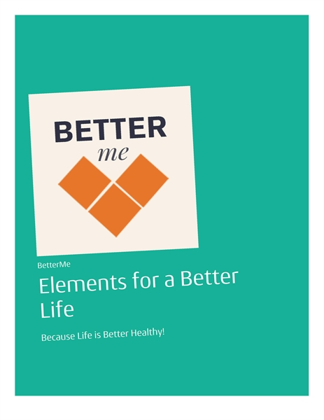 Elements for a Better Life : Because Lif... Volume 1 by Massarinos, Manos