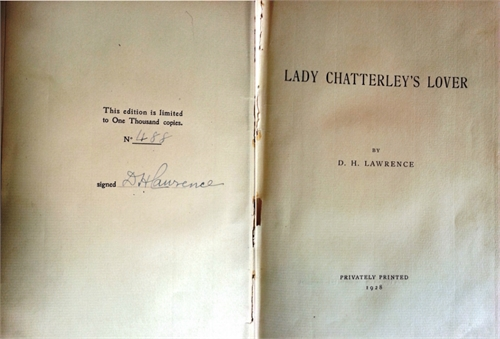 Lady Chatterley's Lover by Lawrence, David Herbert