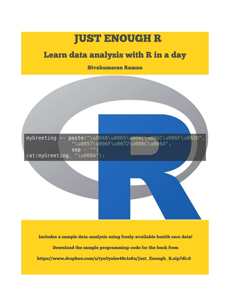 Just Enough R : Learn Data Analysis with... by Raman, Sivakumaran, Dr.