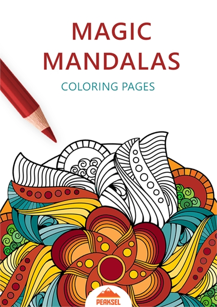 Magic Mandalas Coloring Pages : Coloring... by Petkovic, Marko