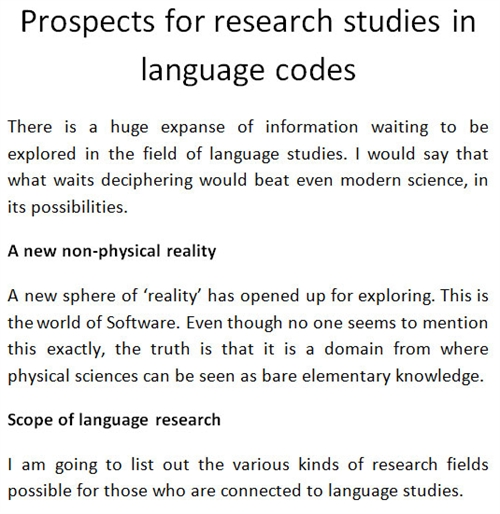 Prospects for Research Studies in Langua... by VED from Victoria Institutions