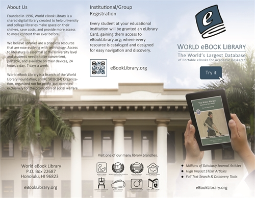 World eBook Library : Marketing Brochure by World Library Foundation