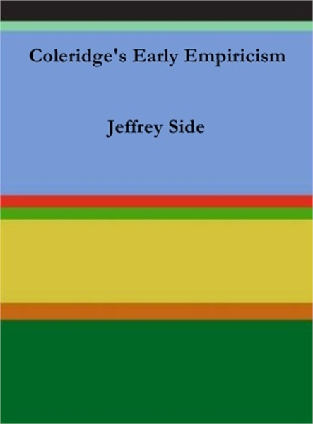 Coleridge's Early Empiricism by Side, Jeffrey