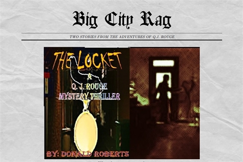 Big City Rag : Two Stories from the Adve... Volume First Edition by Roberts, Donald, Harry