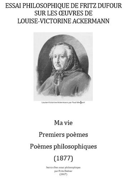 Essai Philosophique De Fritz Dufour Sur ... by Dufour, Fritz