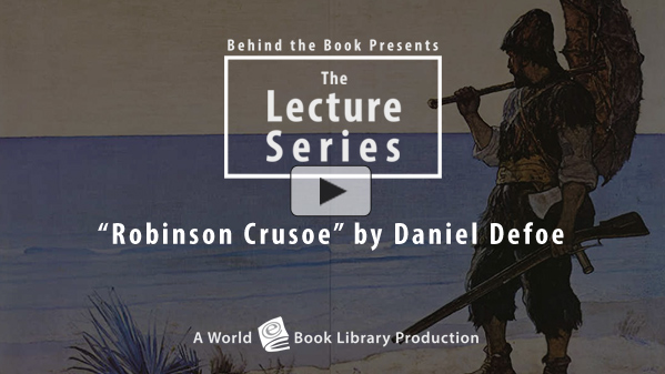 Robinson Crusoe by Daniel Defoe by Behind the Book
